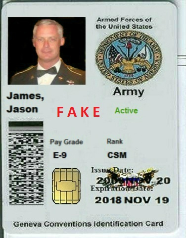 Fake Army Pictures Us 2018 Scammer