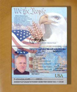 US Passport Fälschung